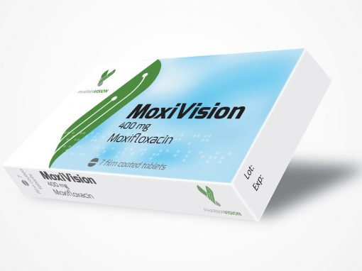 MoxiVision film coated tablets 400mgx7